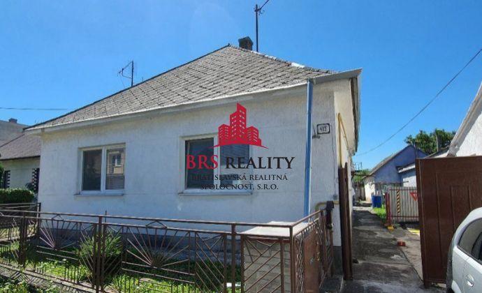 REZERVOVANÉ - Predaj rodinného domu v Sološnici