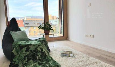 EXKLUZÍVNE NA PREDAJ: novostavba 2i byt, 44m², 5./8 p., pri Trnavskom mýte, Bratislava – Vajnorská ul.