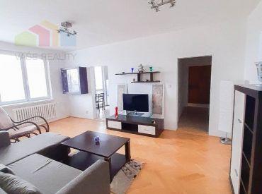 Na prenájom 3-izbový byt s balkónom, 67 m2, Herlianska ul., Ružinov - Štrkovec