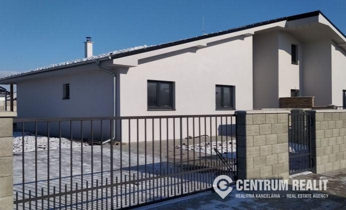 Výhodná ponuka: Moderný 6-izbový rodinný dom (196 m2), pozemok 504 m2, Lehnice - Sása