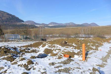 Predaj stavebný pozemok 500m2 Dolná Tižina