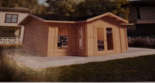 Na predaj záhrada 294 m2 aj s projektom novej chatky Prievidza FM1034