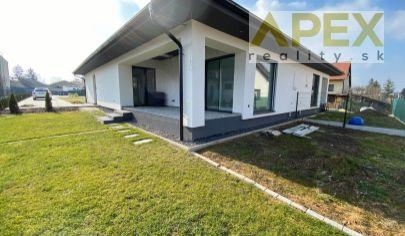 Exkluzívne APEX reality 4i. novostavba RD v Leopoldove, pozemok 551 m2, holodom