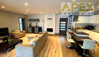 APEX reality 4i. rodinný dom po kompletnej rekonštrukcii v Hlohovci, 137 m2, terasa, garáž, všetky IS
