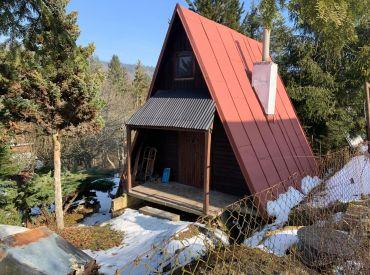 Rezervované - Predaj záhradnej chaty v osobnom vlastníctve vrátane pozemku v k.ú.Divina