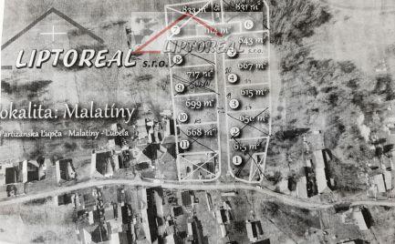 Malatíny - predaj stavebných pozemkov.