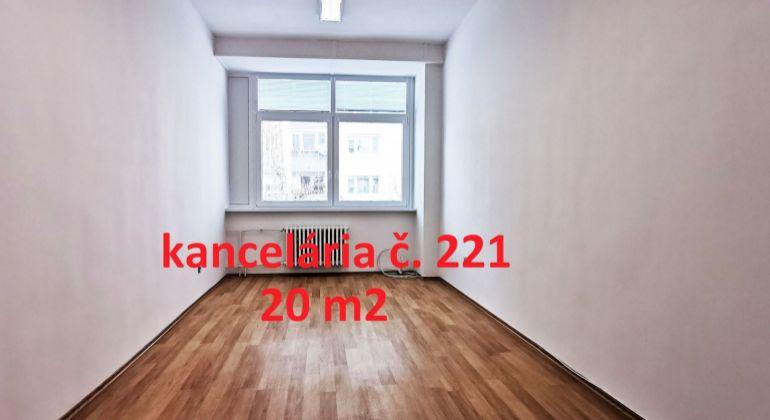 Na prenájom kancelária 20 m2 Wolkrova, Bratislava V – Petržalka, VIDEOOBHLIADKA