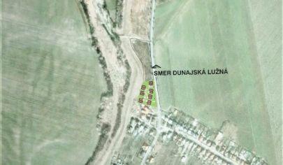 Predaj – Pozemok 4041m2 na výstavbu obytnej zóny – Kalinkovo – okr. Senec