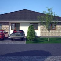 Rodinný dom, Galanta, 127 m², Vo výstavbe