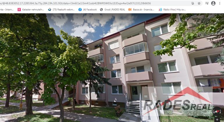 Kúpa 3-izb.bytu v Skalici
