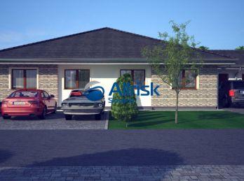Novostavba 4-izbového rodinného domu s garážou, Galanta-Richtárske pole