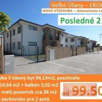 Rodinný dom, Veľké Úľany, 94.13 m², Novostavba