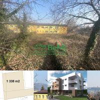 Pre bytovú výstavbu, Nitra, 1338 m²