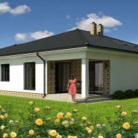 Rodinný dom, Veľké Dvorníky, 92.22 m², Vo výstavbe