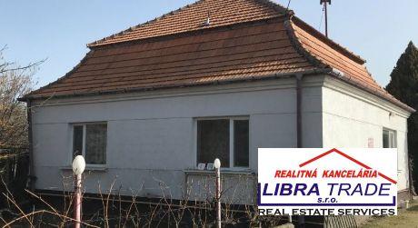 Predaj -  Len u nás ! Rodinný dom v tichom prostredí v  obci Imeľ - aj pre chov domácich zvierat