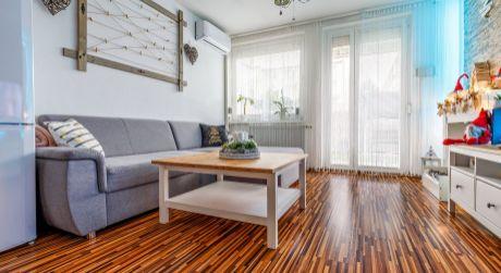Krásny 2-izbový byt na Pannónskej ulici so záhradkou