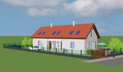 Predaj - Rodinný dom 3 a 4 izbový tehlová novostavba v tichej časti obce - Rajka/HU