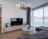 VIDEOPREHLIADKA - Luxusný 2 izbový ATELIÉR v projekte Vajnorská 21, novostavba, kompletne zariadený