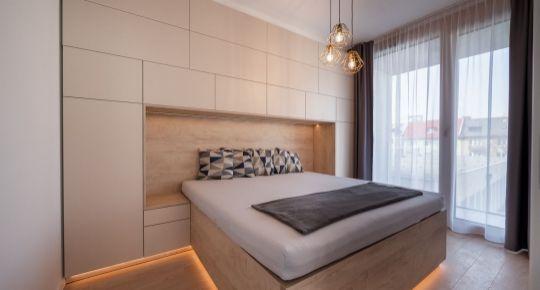 REZERVOVANÉ ! TOP Luxusne zariadený 2 izb. byt- ATELIÉR v projekte Vajnorská 21, novostavba, VIDEOPREHLIADKA