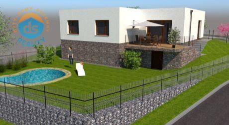 Na predaj Novostavba, rodinný dom 161 m2, terasa, záhrada, 548 m2, Nová Dubnica - Medové Lúky