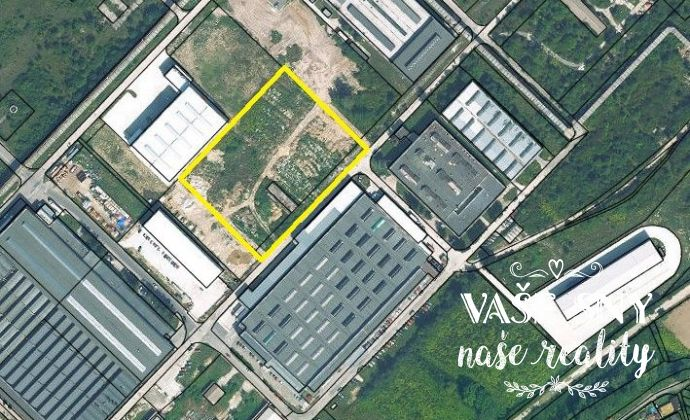 Na predaj pozemok v priemyselnej zóne v objekte ZTS v Dubnici nad Váhom