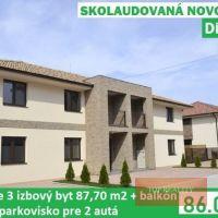 3 izbový byt, Diakovce, 87.80 m², Novostavba