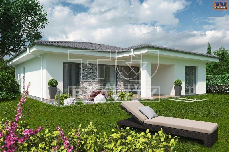 Novostavba! Moderný 4-izbový bungalov v tvare písmena L110, 534m2, Južná brána,Senec. CENA: 224 000,00 EUR