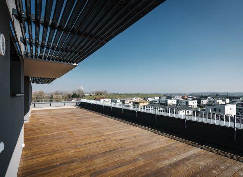 Na predaj nádherný 4 izbový byt s veľkou terasou s výhľadom v tichej lokalite Jaroviec