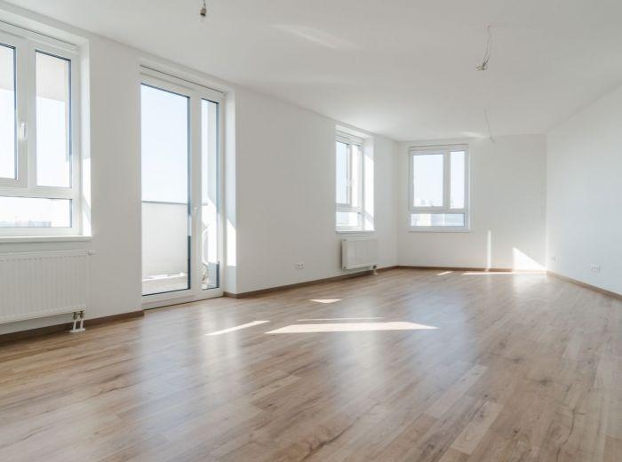 JARABINKOVÁ, 3-i byt, 95 m2 - TEHLA, novostavba, 2x BALKÓN, klimatizácia v každej izbe, MLYNSKÉ NIVY