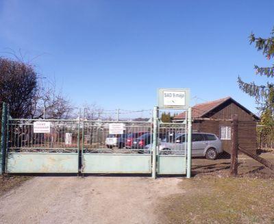 Na predaj záhrada 261 m2 so záhradnou chatkou Prievidza FM1044