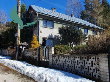 Domček na okraji dediny vhodný na rekreačné účely Telgárt