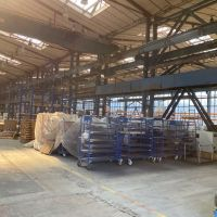 Výrobné, Vrútky, 2700 m², Čiastočná rekonštrukcia