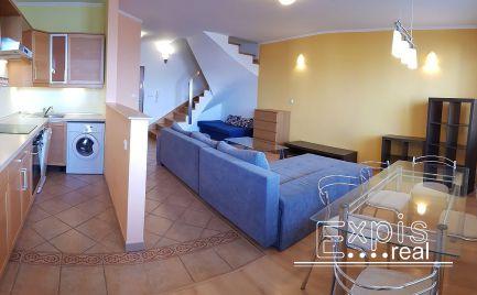 PRENÁJOM 3 izb. mezonetový byt s loggiou a garážou, Ružová dolina, BA Ružinov EXPIS REAL