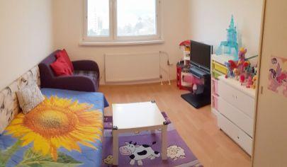 EXKLUZÍVNE NA PREDAJ: čiastočne zrekonštruovaný 3i byt s krásnym výhľadom v Bratislave-Petržalke