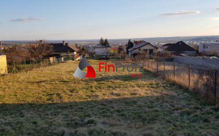 Predám pekný stavebný pozemok Nitra - Zobor.