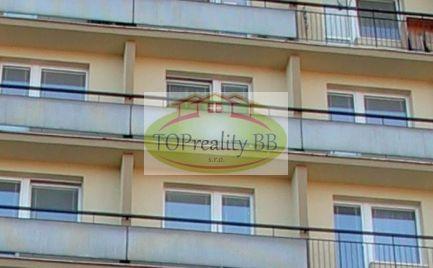 TOP PONUKA - Byt 1 izbový byt , 35 m2 s lodžiou,  B. Bystrica – širšie centrum  cena 89 000€
