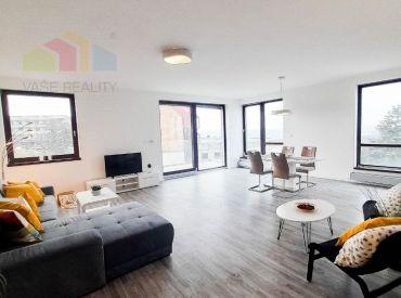 Na prenájom, moderný a krásny 4-izbový byt, 163 m² s 2 balkónmi, Hriňovská, klimatizovaný