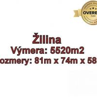 Komerčná zóna, Žilina, 5520 m²