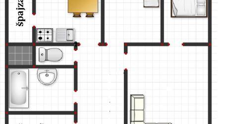 EXKLUZÍVNE - 3 izbový prerobený byt v Priekope - s loggiou, špajzou aj šatníkom