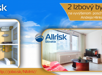 Zrekonštruovaný 2-izbový byt v Piešťanoch