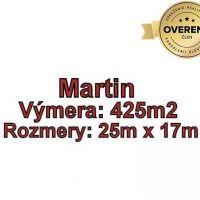 Pre rodinné domy, Martin, 425 m²