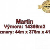 Pre rodinné domy, Martin, 14366 m²