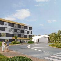 Obchodné centrum, Trnava, 360 m², Vo výstavbe