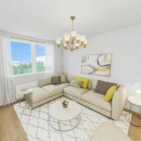 2 izbový byt, Poprad, 57 m², Čiastočná rekonštrukcia