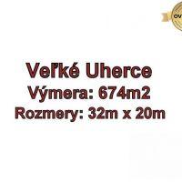 Pre rodinné domy, Veľké Uherce, 674 m²