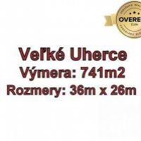 Pre rodinné domy, Veľké Uherce, 741 m²