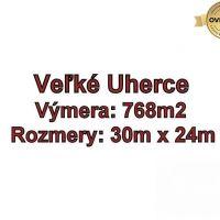 Pre rodinné domy, Veľké Uherce, 768 m²
