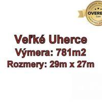 Pre rodinné domy, Veľké Uherce, 781 m²