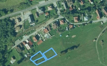 Predaj pozemkov vhodných na výstavbu domu, alebo rekreačného objektu v k.ú. Mýto pod Ďumbierom