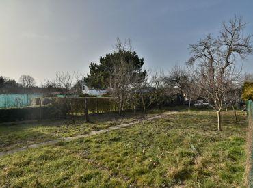 záhrada, 245 m2 – BA – Rusovce: IS na pozemku, možnosť výstavby záhradnej chatky